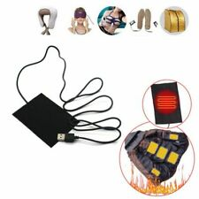 2/5/8PCS 5V USB Electric Heating Pads Vest Clothes Heater Pad Warm Portable USA