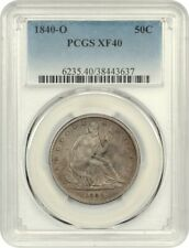 1840-O 50c PCGS XF40 - Liberty Seated Half Dollar