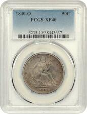 1840-O 50c PCGS XF40 - Liberty Seated Half Dollar