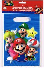Partytüten 8 Stück  Super Mario  Kinderparty Kindergeburtstag Mario Tüte