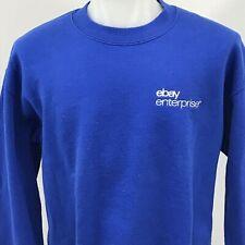 Ebay Enterprise Embroidered Blue Sweatshirt Mens Medium 50/50