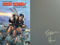 Buck Rogers Volume 1 Grievous Angels Hardcover GN Signed Howard Chaykin New NM