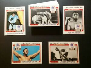 "1984 MARS ""OLYMPIC HEROES"" (CASSIUS CLAY/FOREMAN/FRAZIER/PATTERSON)FULL-44"