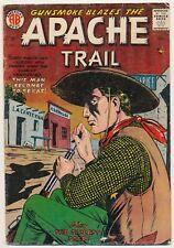 Apache Trail 2 Silver Age Western Comics November 1957 America's Best Steinway