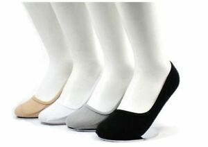 6 12 Pairs Womens No Show Liner Socks Footies Cool Boat Cotton NEW Solid Colors