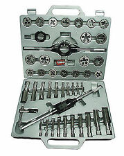 Mannesmann Tap and Die Set 45 PC / M6 - M24mm Tungsten Steel Thread Cutting TUV