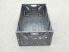 """Plastic Stacking Crates Lugs Bins Baskets Folding Collapsible #8, 10 1/4"""""""