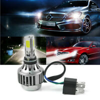 H4 3000Lm LED Car Motorcycle Headlight Conversion Globes Bulbs Beam 6500K Kit AU