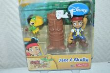 FIGURINE  JAKE & SKULLY  FISHER PRICE NEVER LAND PIRATE NEUF  FIGURE COLLECTION