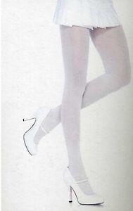 Leg Avenue Tights Opaque Nylon One Size Reg Black Gray Green Red White 7300