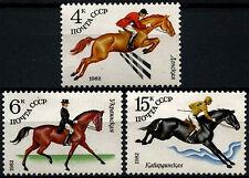 Russia 1982 SG#5203-5 Soviet Horse Breeding MNH Set #D47755