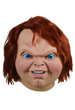 Halloween Child's Play 2 - Evil Chucky Adult Latex Deluxe Mask Pre-Order NEW