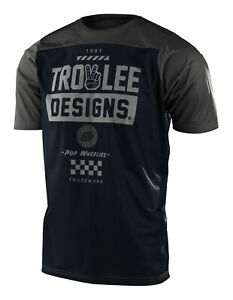 Troy Lee Designs MTB Men's Skyline Jersey SS Camber - Navy / Olive
