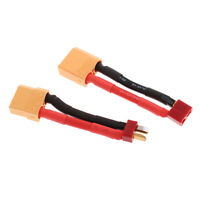 XT90 to T-Plug Male & Female Lipo Battery Adapters Lead Wire for RC Models