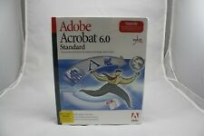 Adobe Acrobat 6.0 Standard Upgrade #22001660. Factory Sealed!