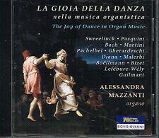 CD album: the joy of dance in organ music: Alessandra Mazzanti. bongiovanni. C2