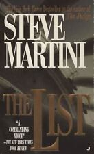 The List by Steve Martini (1997, Paperback)