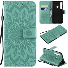For Samsung Galaxy A9 A7 A8 A6 2018 Leather Wallet Card Holder Stand Case Cover