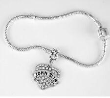 John 3:16 Bracelet John 3:16 Gift  Religious Jewelry John 3:16 Charm Bracelet