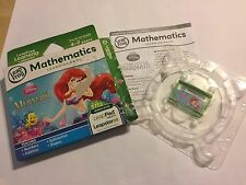 LEAP FROG LeapPad +GS GAME DISNEY THE LITTLE MERMAID ARIEL'S PRINCESS ADVENTURES
