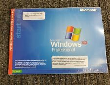 MICROSOFT WINDOWS XP PROFESSIONAL w/SP3 OPERATING SYSTEM MS WIN PRO =NEW SEALED=