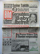 Bild Zeitung vom 12.9.1984, Ava Cadell, Colleen Applegate, Geburtstagsgeschenk