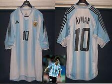 Argentina 2003 Camiseta de fútbol Pablo Aimar adultos Valencia Benfica Usado V. Buena