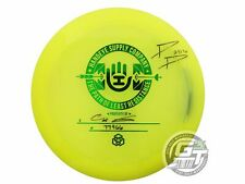 Used Dynamic Discs Lucid Convict 175g Yellow Green Foil Driver Golf Disc