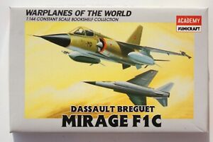 RARE! Dassault Mirage F1C Academy Minicraft 1/144 (sans boite)