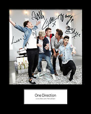 ONE DIRECTION #2 Signed Photo Print 10x8 Mounted Photo Print - FREE DELIVERY