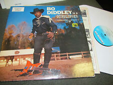 BO DIDDLEY IS A GUNSLINGER Checker '60 LP 2977 bluefade lbl mono stereo lps2977!