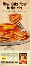 1964 Vintage ad for Albers Flapjack Mix~pancakes/syrup/butter (083013)