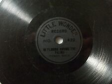"Tenor-solo ""dans florda among yhe palms"" Little wonder 13,5cm 78rpm toyphonographs"