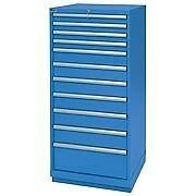 LISTA XSSC1350-1103 SC1350 11-Drawer Eye-Level Height Storage Cabinet,Standard D