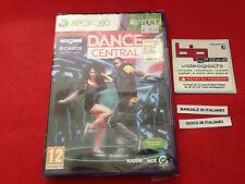 DANCE CENTRAL KINECT XBOX 360 PAL NUOVO SIGILLATO