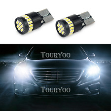 2x Canbus Xenon White Canbus Error Free W5W LED Bulb For Mercedes Parking Lights