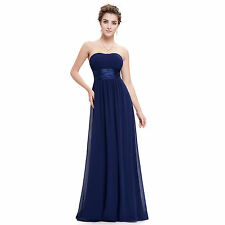 Ever-Pretty Chiffon Ball Gown Solid Dresses for Women