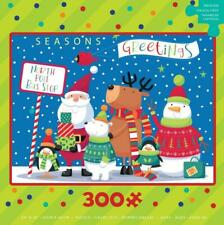 CEACO HOLLY JOLLY HOLIDAY PUZZLE HOLIDAY BUS STOP SARAH PITT 300 PCS #2263-2