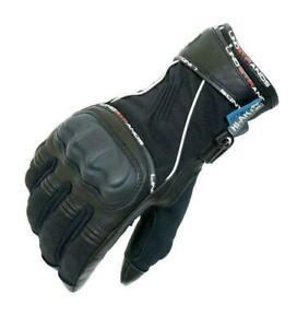 Genuine Lindstrands Orbit Waterproof Motorcycle Motorbike Winter Textile Gloves