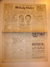 MELODY MAKER 1939 FEBRUARY 25 JACK HYLTON SUNDAY NIGHT SWING CLUB JAZZ JAMBOREE
