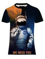 NEW MENS SUB NASA TEAM MARS NEEDS YOU TEE T-SHIRT UK REGULAR FIT