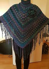 LADIES 100% HAND MADE KNITTED PONCHO