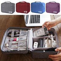 Travel Storage Bag USB Charger Case Data Cable Electronics Organizer Waterproof
