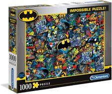 Clementoni Batman impossible Puzzle 1000 Pièces Multicolore - Âge 10 ans