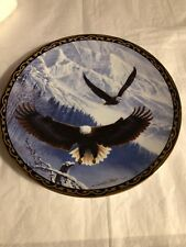 Winters Majestic Flight From TheWings Of Eagles Plate Collection By Hamilton
