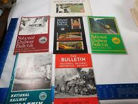 1989 The Bulletin National Railway Historical Society Volumes 1-3 1959 1990 1985
