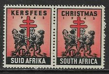 SOUTH AFRICA 1945 Christmas Labels MNH/**