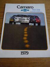 CHEVROLET CAMERO 1979 CAR BROCHURE  jm