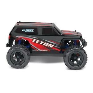 Traxxas 76054-1 LaTrax Teton 1/18 Scale 4WD RC Car (Red) Brand New