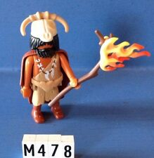 (M478) playmobil sorcier préhistorique ref 5102
